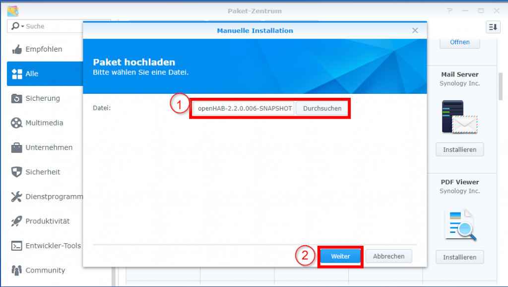 smart-home-openHAB-2-synology-openhab-2-installieren